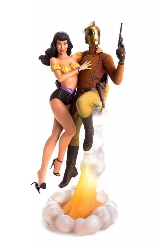 Rocketeer & Betty - Rocketeer - Polystone Statue