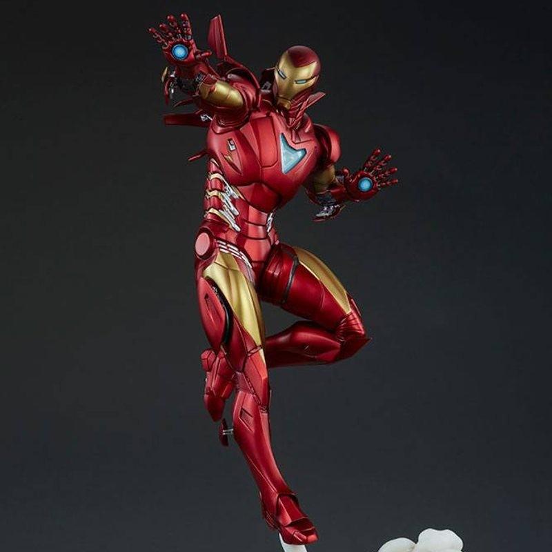 Iron Man Extremis Mark II - Adi Granov Artist Series - Polystone Statue