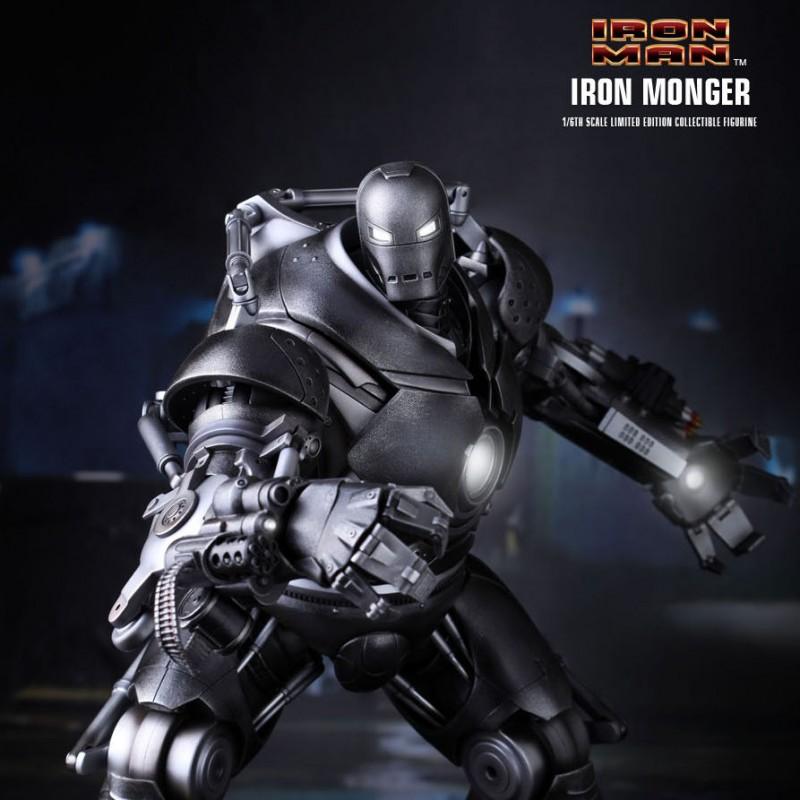 Iron Monger - Iron Man - 1/6 Scale Figur