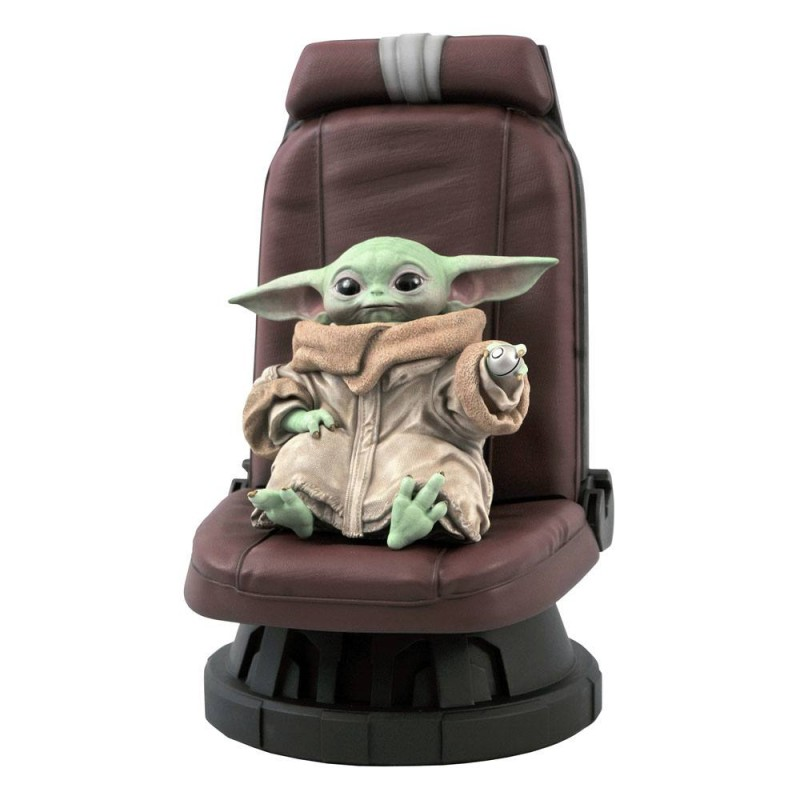Child in Chair - Star Wars The Mandalorian - Premier Collection 1/2 Scale Statue