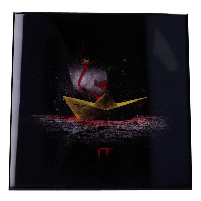 Georgie- Stephen Kings Es - Crystal Clear Picture 32 x32 cm