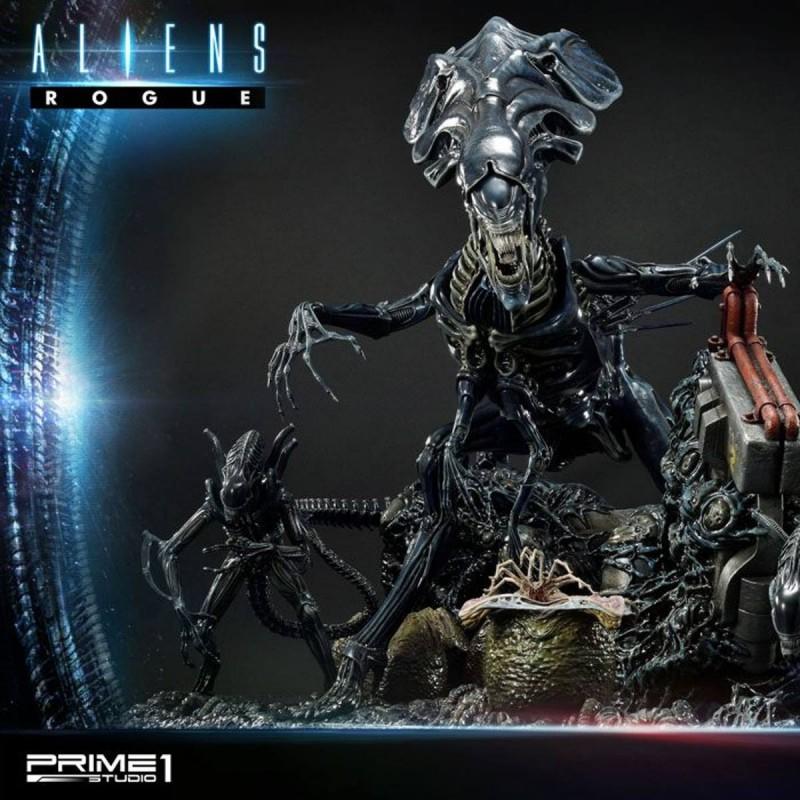 Queen Alien Battle Diorama - Aliens - Polystone Statue