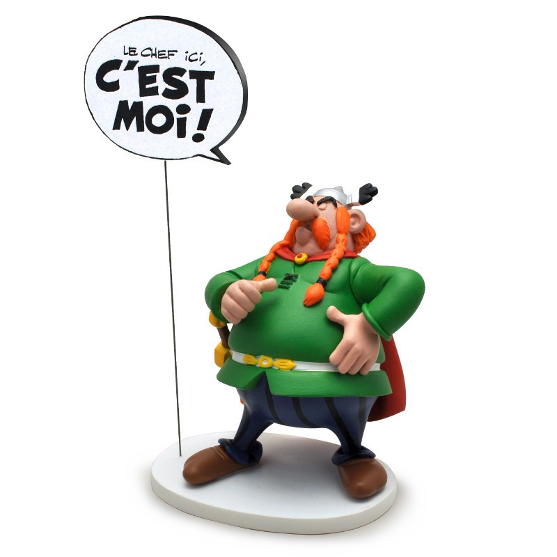 I am the Boss Abraracourcix - Asterix - Resin Staue