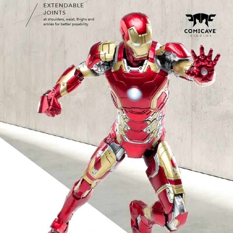 Iron Man Mark 43 - Avengers - 1/12 Scale Diecast Actionfigur