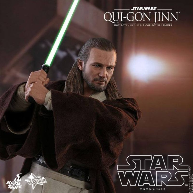 Qui-Gon Jinn - Star Wars Episode I - 1/6 Scale Figur