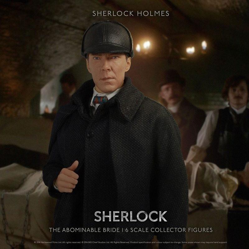 Sherlock Holmes The Abominable Bride - Sherlock - 1/6 Scale Figur