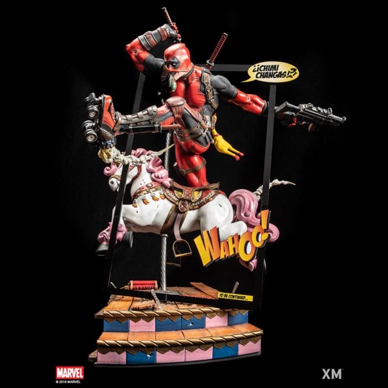 Deadpool Ver. B - Marvel Comics - 1/4 Scale Premium Statue