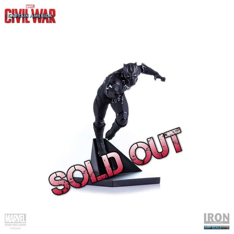 Black Panther - Captain America Civil War - 1/10 Scale Statue