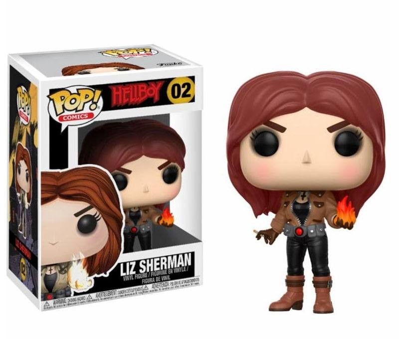 Liz Sherman - Hellboy - Movies POP! Vinyl Figur