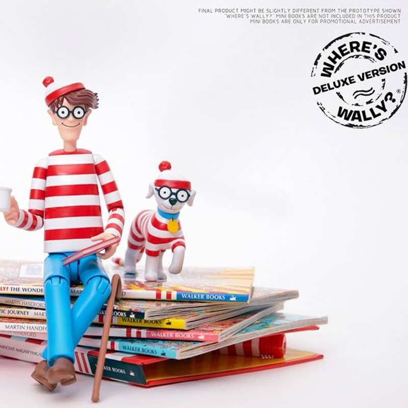 Wally DX Version - Wo ist Walter? - 1/12 Scale Mega Hero Actionfigur