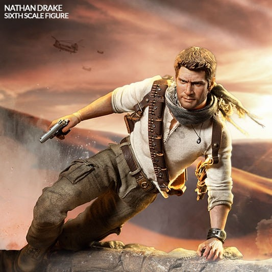 Nathan Drake - Uncharted 3 - 1/6 Scale Figur