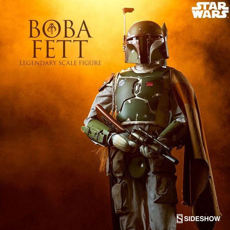 Boba Fett - Star Wars - Legendary Scale Statue