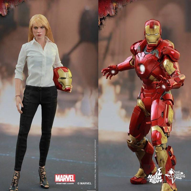 Pepper & Mark IX - Iron Man 3 - 1/6 Scale Figuren Set
