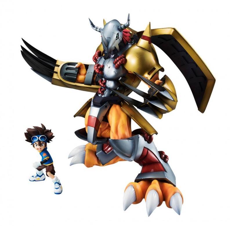 Wargreymon & Tai - Digimon Adventure - G.E.M. Serie PVC Statue