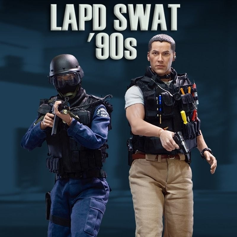 Kenny (Exclusive) - LAPD SWAT 90s - 1/6 Scale Actionfigur