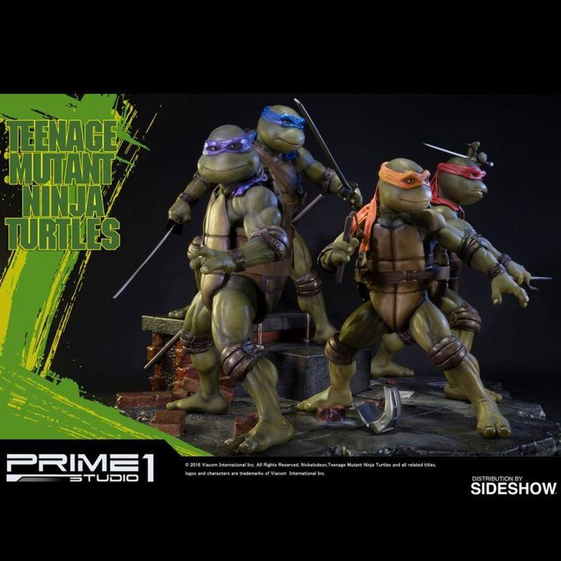 Turtles Exclusive Set - TMNT - Polystone Statuen Set