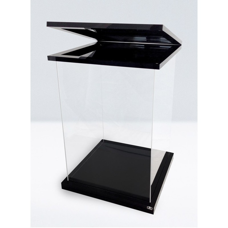 Supreme Display Case für 1/6 Actionfiguren - Black Magnetic Edition