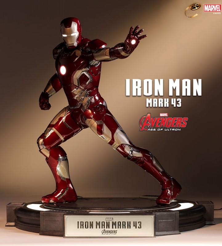 Iron Man Mark 43 - Avengers - Cinemaquette