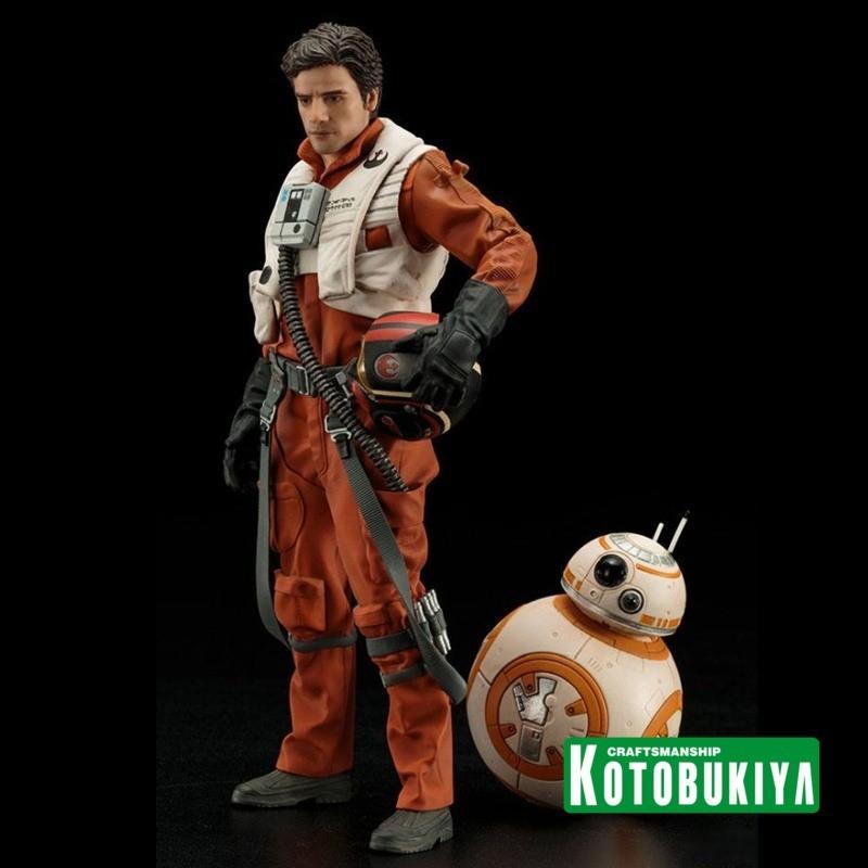 Poe Dameron & BB-8 - Star Wars Episode VII - ARTFX+ Statuen Doppelpack