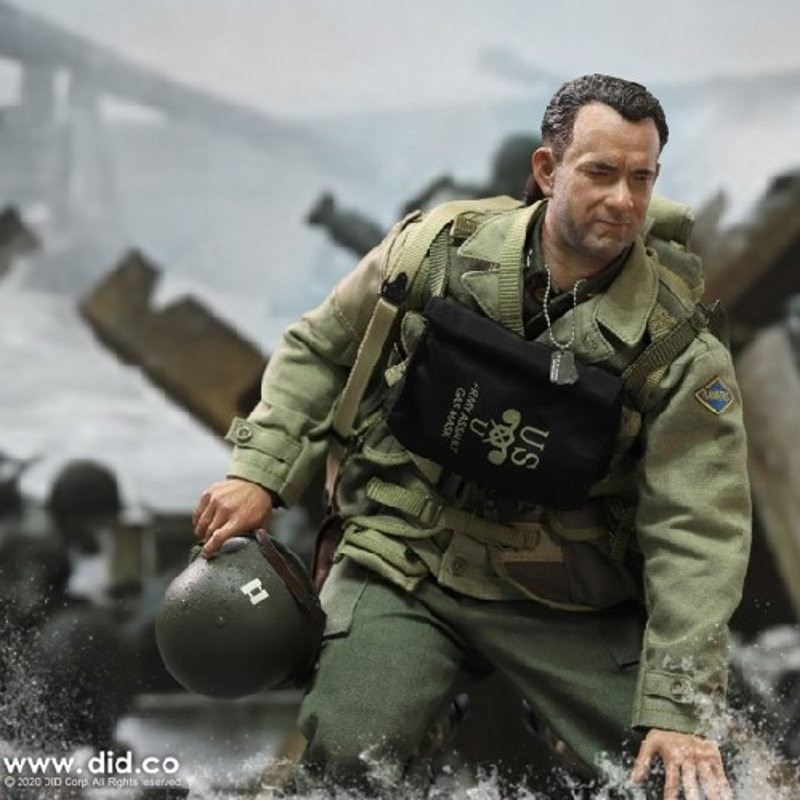 Captain Miller - WWII US 2nd Ranger Battalion Series 3 - 1/6 Scale Actionfigur
