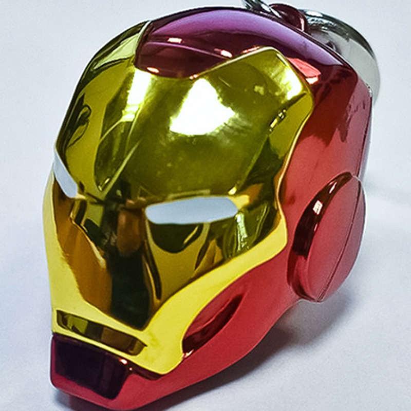 Iron Man Helm - Marvel Comics - Metall Keychain
