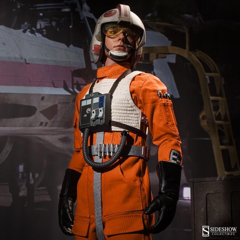 Luke Skywalker: Red Five X-Wing Pilot - Star Wars - 1/6 Scale Figur
