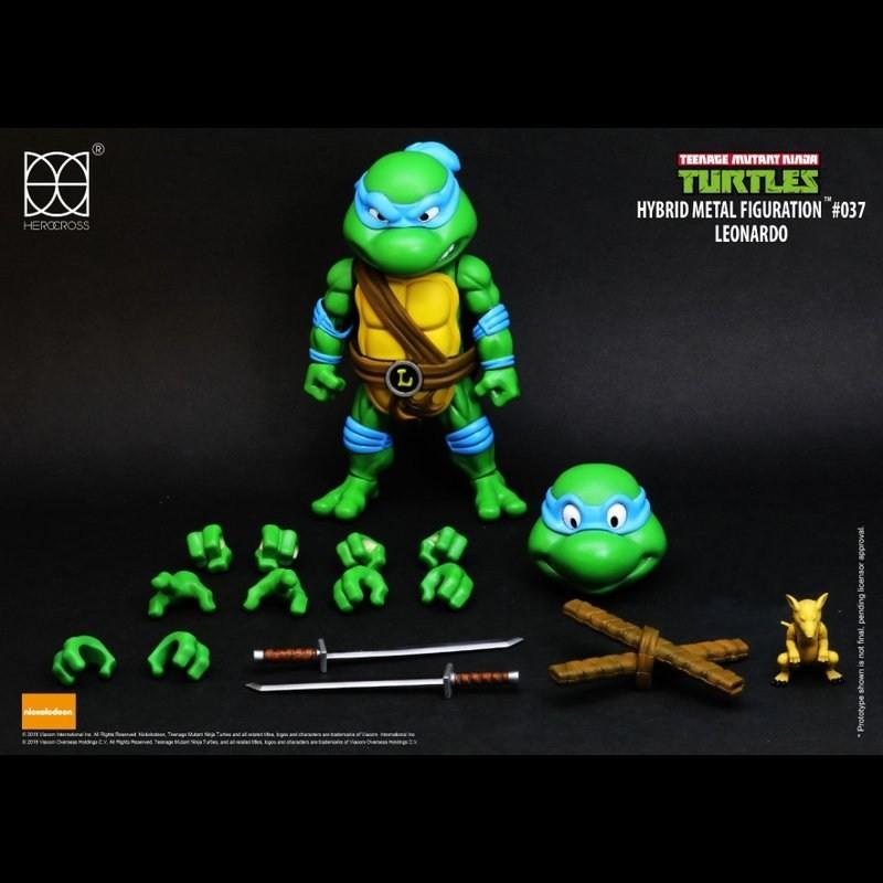 Leonardo - TMNT - Hybrid Metal Figuration