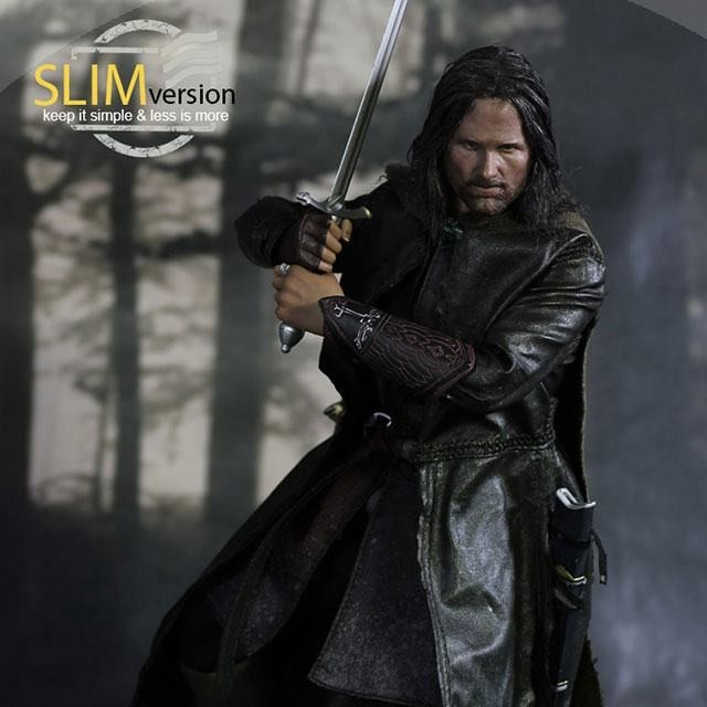 Aragorn Slim Version - Herr der Ringe - 1/6 Scale Actionfigur