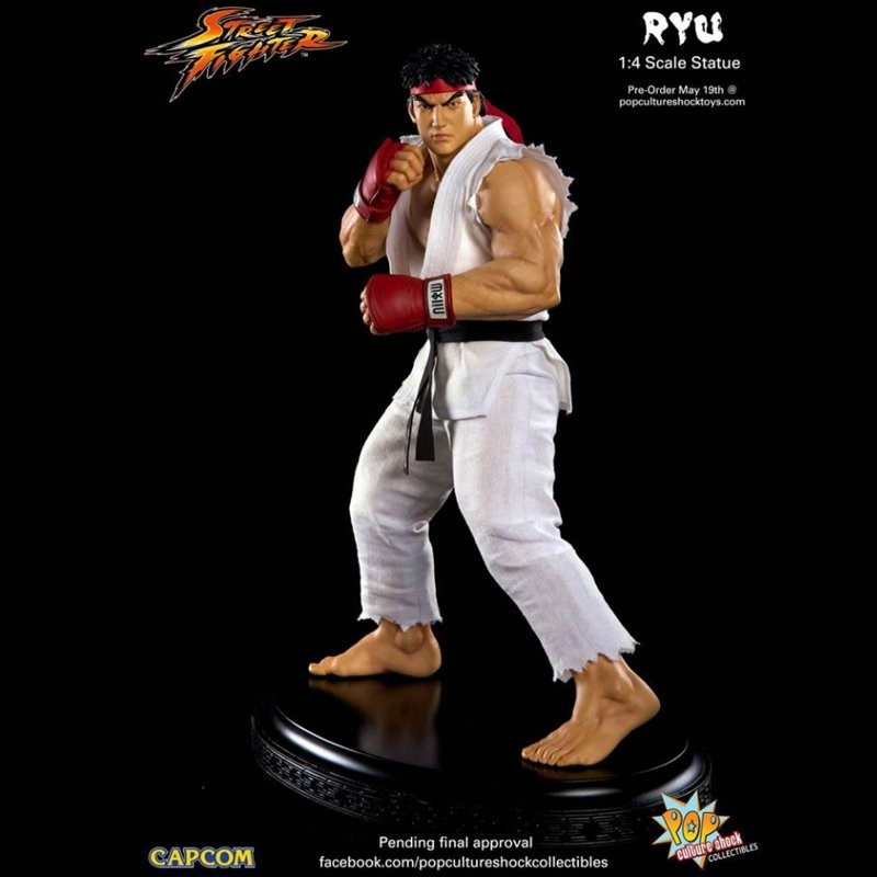 Ryu - Street Fighter - 1/4 Scale Statue