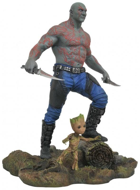 Drax & Baby Groot (GotG 2) - Marvel Gallery - PVC Statue