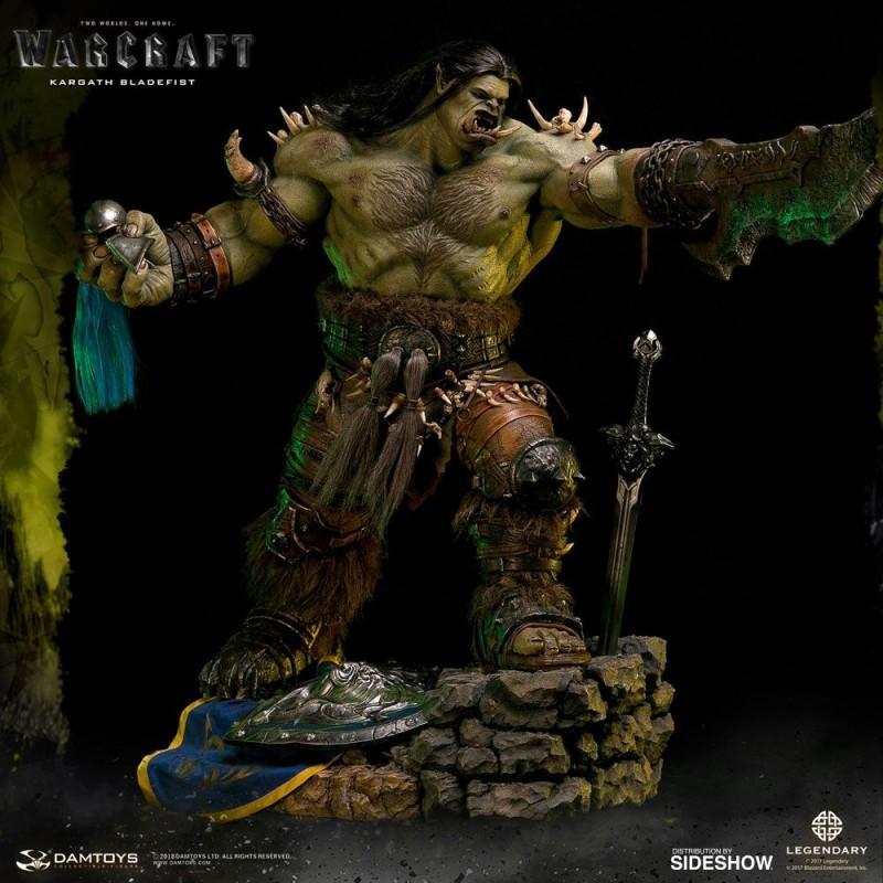 Kargath Bladefist - Warcraft - Epic Series Premium Statue