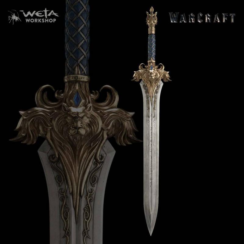 Schwert von König Llane - Warcraft - 1/1 Replik