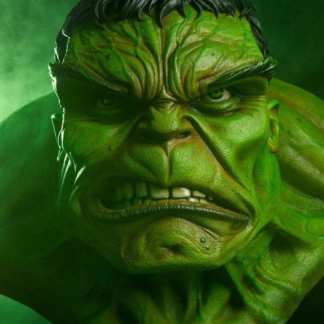 Incredible Hulk - Marvel Comics - Life-Size Büste