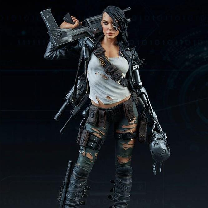 Rebel Terminator - Terminator Mythos - Polystone Statue