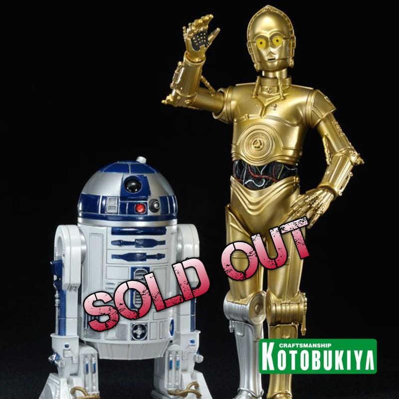 C-3PO & R2-D2 - Star Wars - ARTFX+ Statuen Set