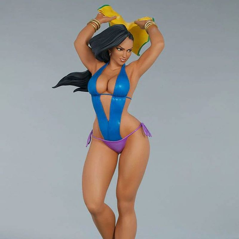Laura (Season Pass) - Street Fighter - 1/4 Scale Statue
