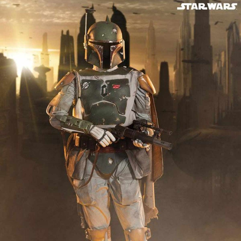 Boba Fett - Star Wars - Life-Size Statue
