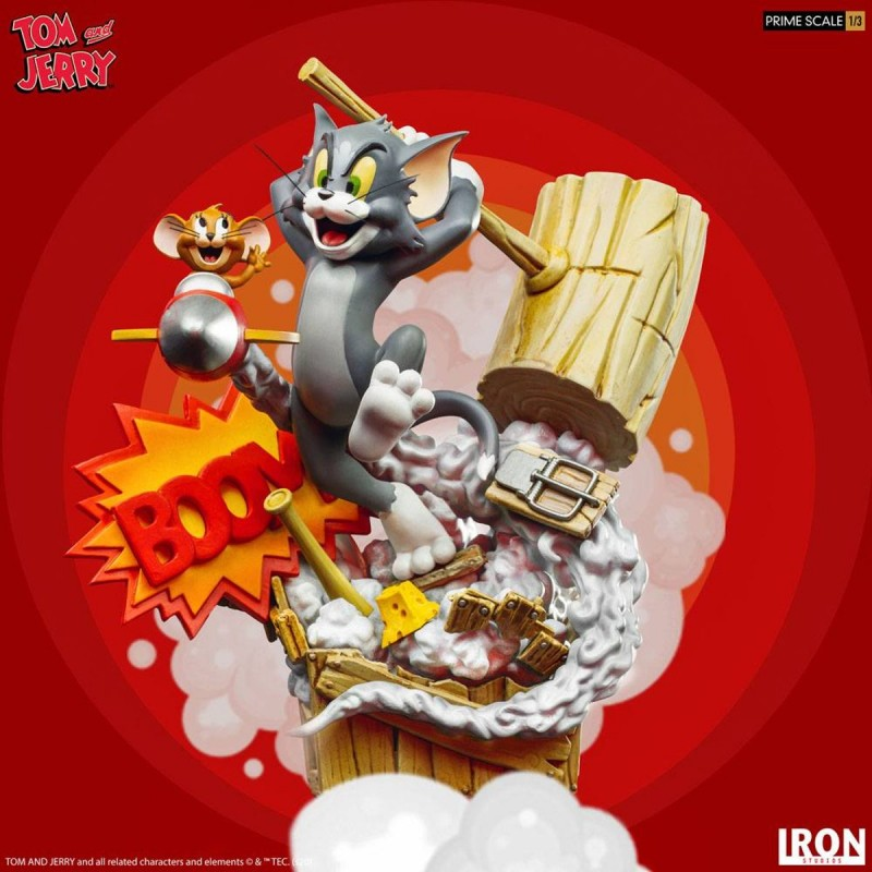 Tom & Jerry - Tom & Jerry - 1/3 Prime Scale Statue