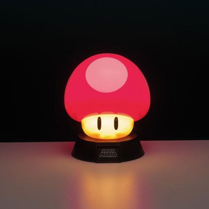 Power-Up Pilz - Super Mario 3D - Lampe