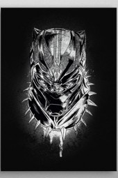 Black Panther Panther's Rage - Marvel Comics - Metall-Poster
