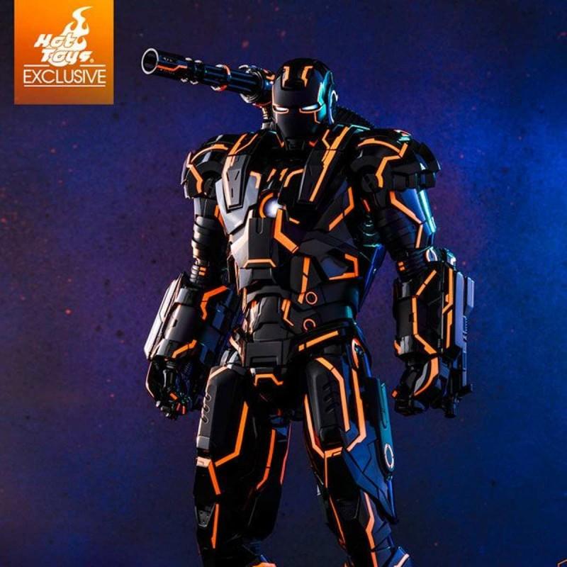 Neon Tech War Machine - Iron Man 2 - Diecast 1/6 Scale Figure