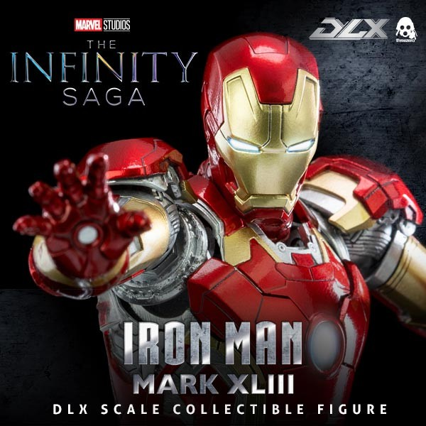 Iron Man Mark 43 - Avengers: Infinity Saga - 1/12 Scale DLX Actionfigur