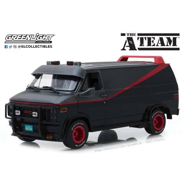 GMC Vandura - A-Team - Diecast Modell 1/18