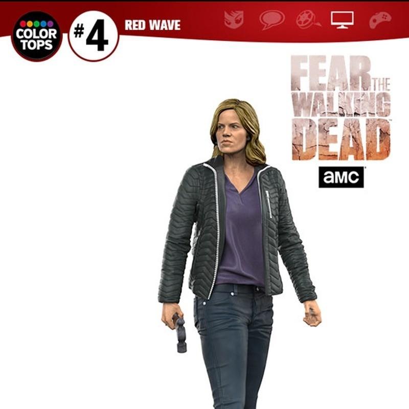 Madison Clark - Fear The Walking Dead - Color Tops Actionfigur