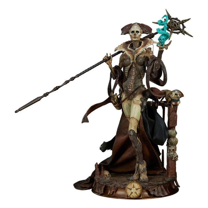 Xiall - Osteomancers Vision - Court of the Dead - PVC Statue