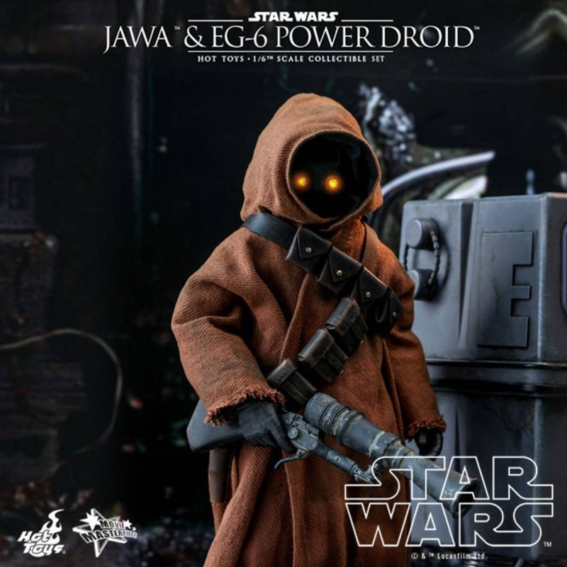 Jawa & EG-6 Power Droid - Star Wars Episode IV - 1/6 Scale Figuren Set