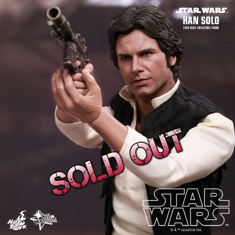 Han Solo - Star Wars - 1/6 Scale Action Figur