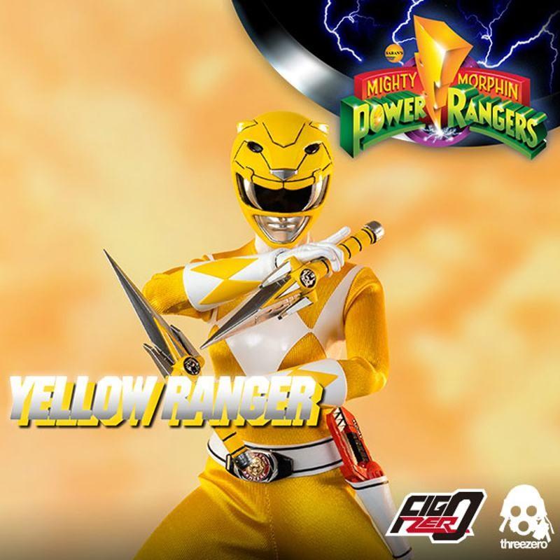 Yellow Ranger - Mighty Morphin Power Rangers - 1/6 Scale Figur