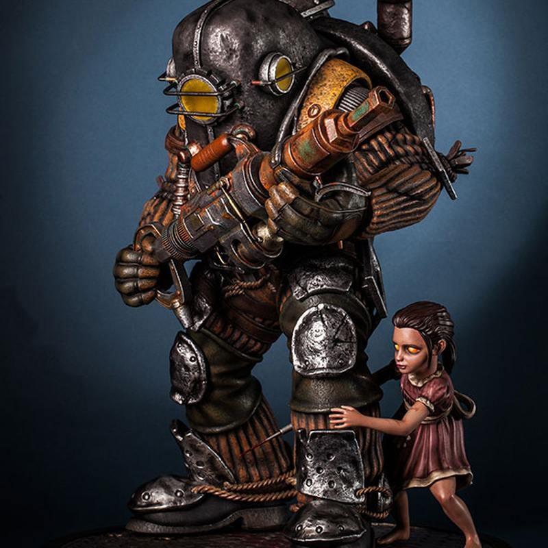 Big Daddy Rosie - BioShock Infinite - 1/4 Scale Statue