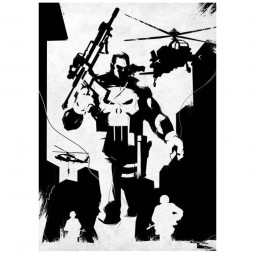 Frank Castle - Marvel Comics - Metall-Poster